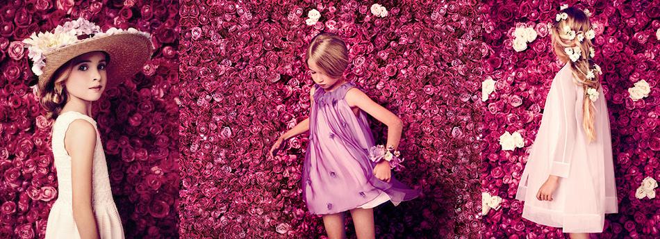 10 нарядных платьев для девочек