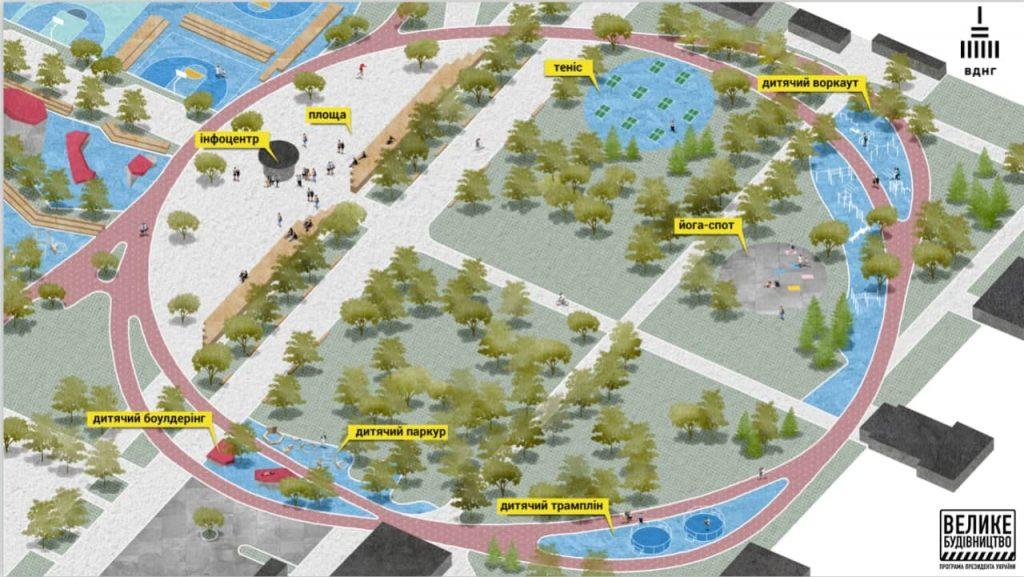 Большое строительство: новый урбан-парк на ВДНХ