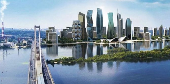 Проект строительства Киев-Сити