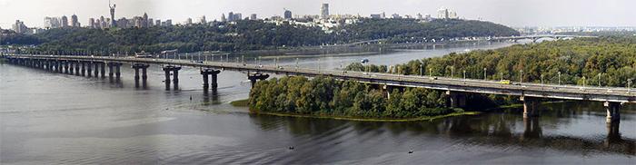 Планы реконструкции моста Патона в Киеве